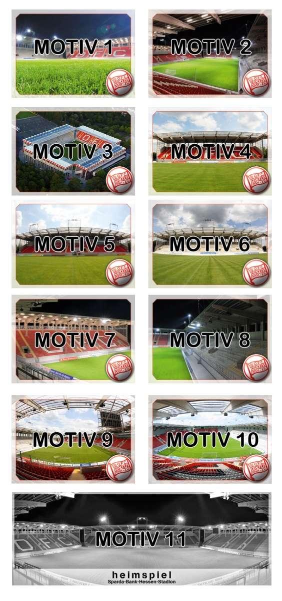 "Postkarten ""Stadion"""