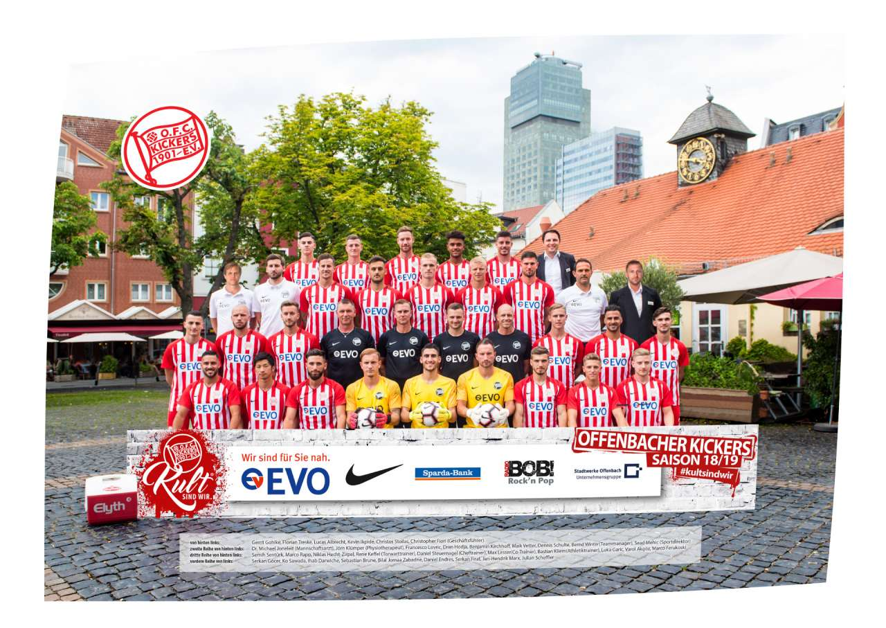 Mannschaftsposter 2018/19