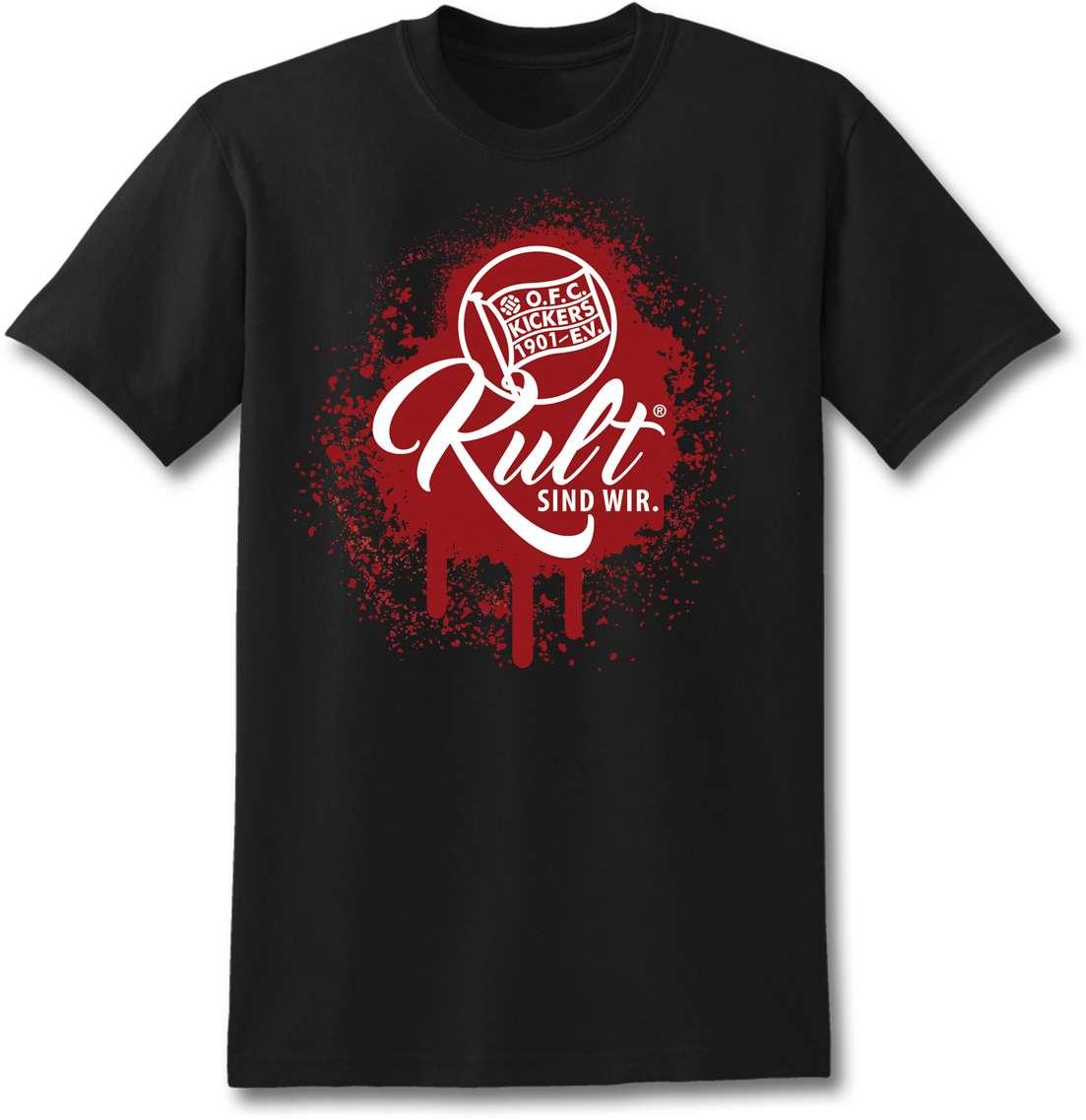 """T-Shirt """"Kult sind wir"""" Schwarz"""