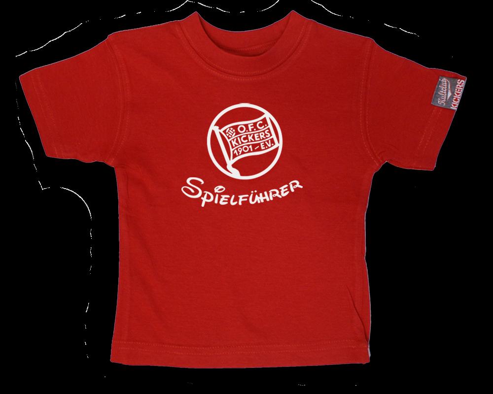 """Baby T-Shirt """"Spielführer"""""""