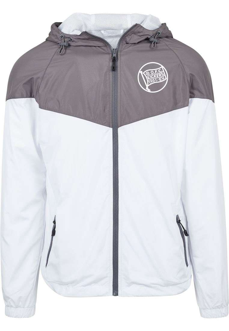 "Windbreaker ""Arrow"" Grau"