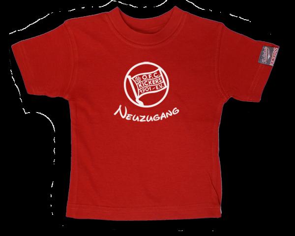 "Baby T-Shirt ""Neuzugang"""