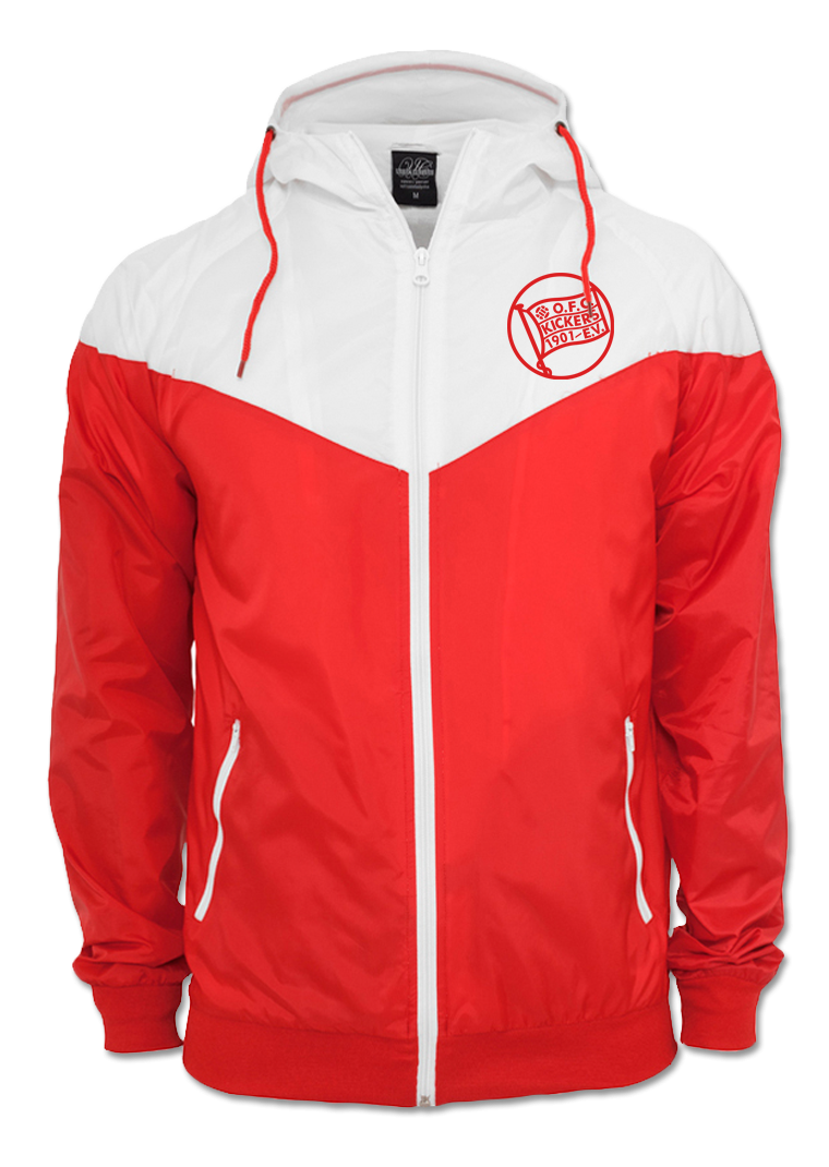 "Windbreaker ""Arrow"" Rot"