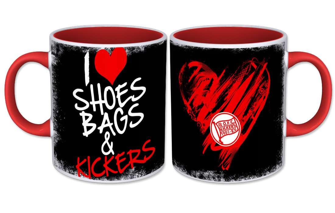 """Kaffeebecher """"Shoes"""""""