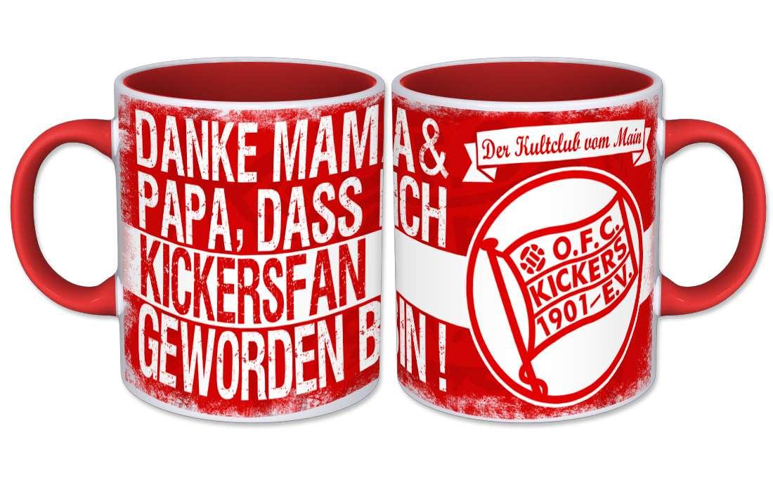 "Kaffeebecher ""Danke Mama & Papa"""