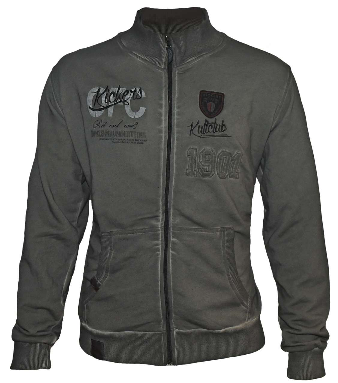 zip jacke kultclub zip hoodies jacken kickers. Black Bedroom Furniture Sets. Home Design Ideas